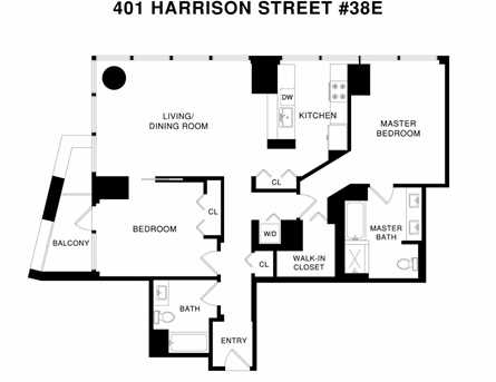 401 Harrison Street #38E - Photo 34