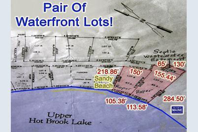 Danforth Maine Map.Lot 9 10 Upper Hot Brook Rd Danforth Me 04424 Mls 1368268