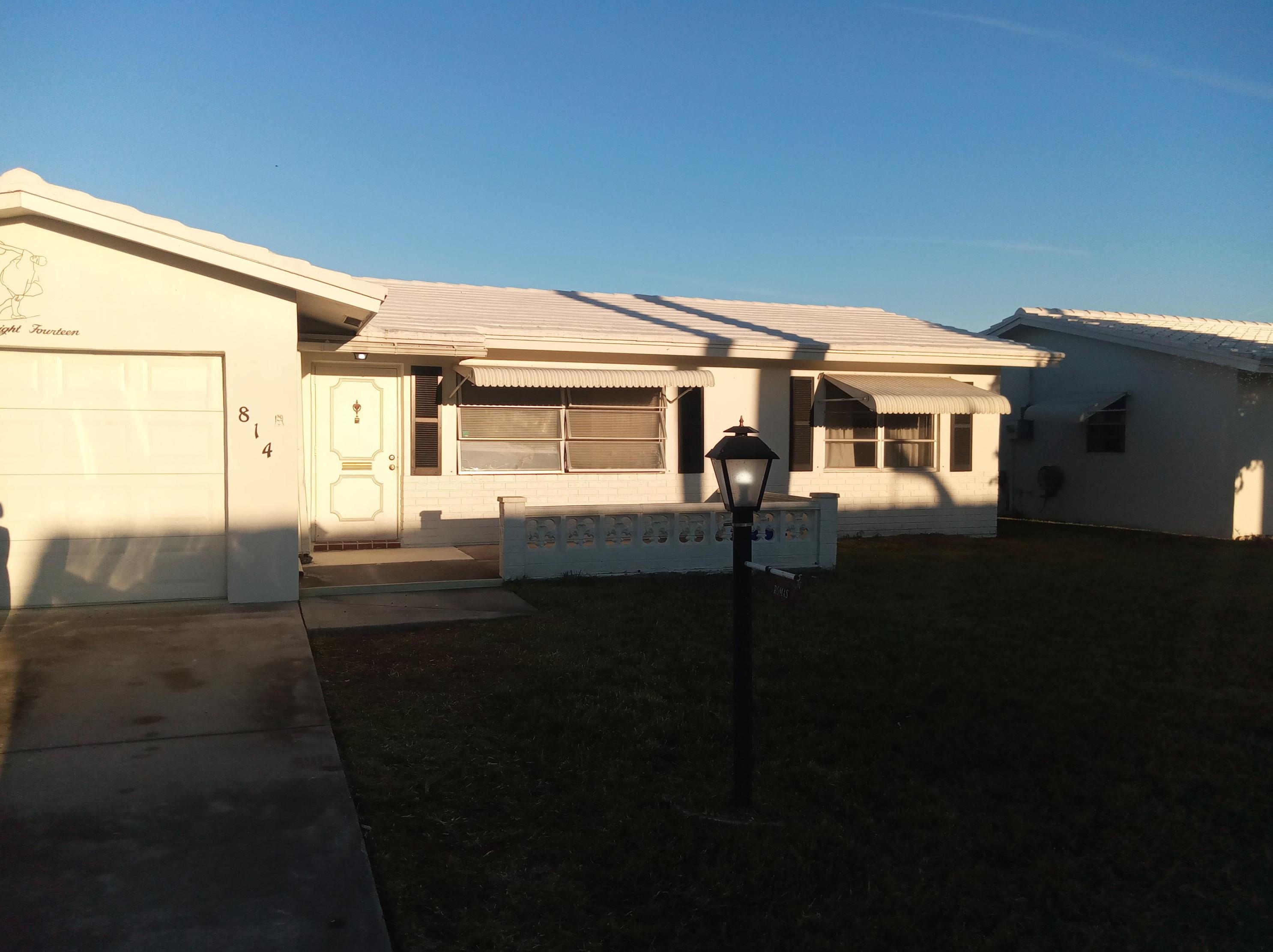 814 Sw 18th Ct, Boynton Beach, FL 33426