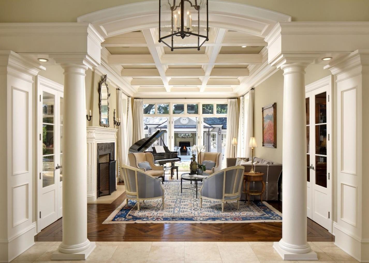 Nádherný biely a hlavne extrémne luxusný interiér - svetapple.sk