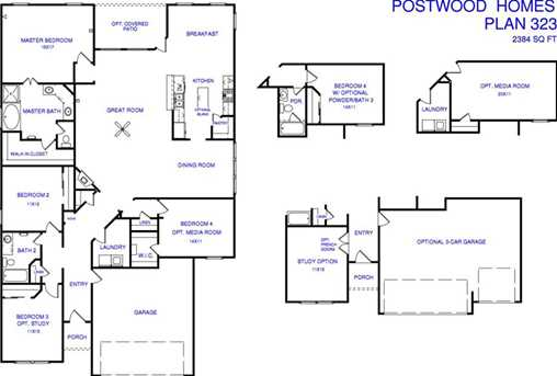 4239 Leafy Bough Humble TX 77346 MLS 93990108 Coldwell Banker – Postwood Homes Floor Plans