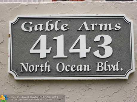 4143 N Ocean Blvd, Unit # 110 - Photo 1